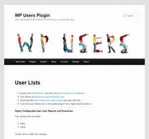 wpusersplugin website