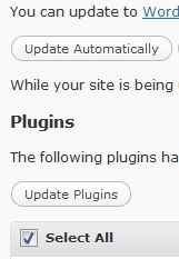 Update all plugins